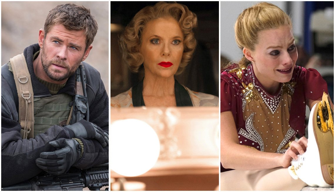 Chris Hemsworth, Annette Bening, Margot Robie in weekend movie preview