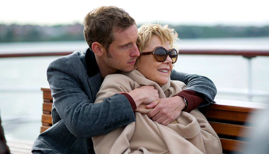 Jamie Bell and Annette Bening in Film Stars Don't Die In Liverpool