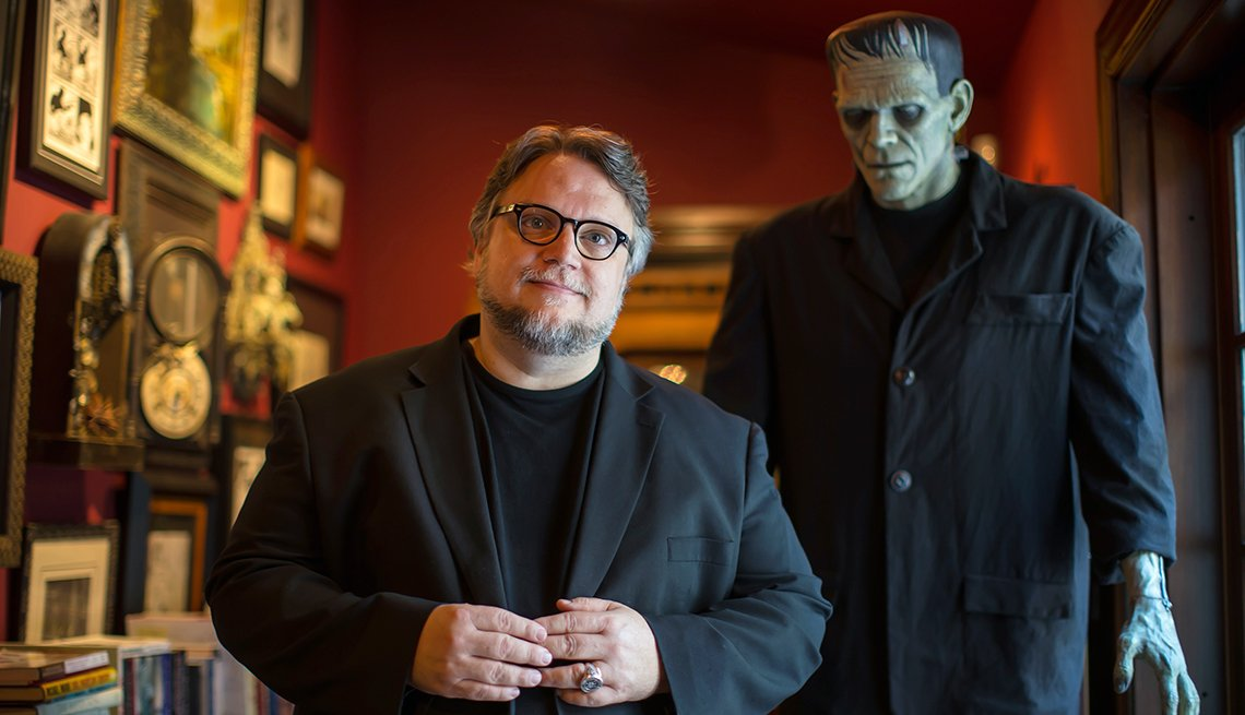Retrato de Guillermo del Toro en Bleak House