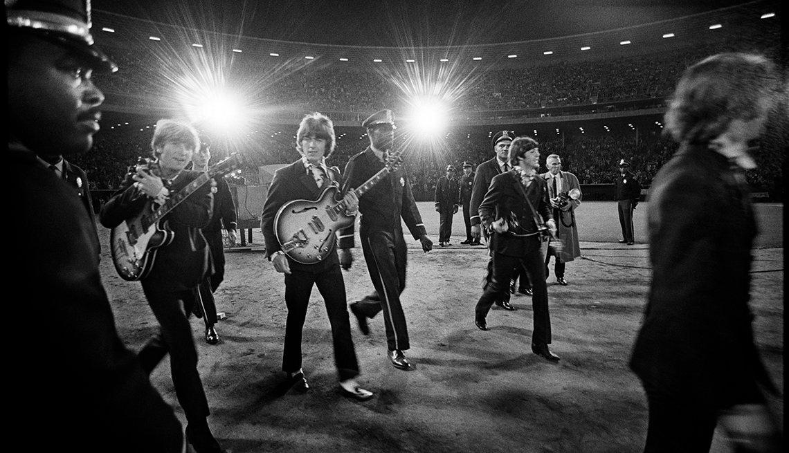 The Beatles Perform Their Last Concert In San Francisco, John Lennon, George Harrison, Paul McCartney, Ringo Starr, The Beatles Slideshow