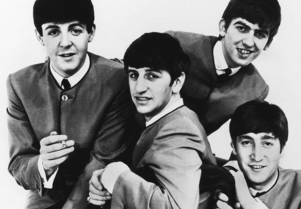 1962 photo of the Beatles, PAUL MCCARTNEY RINGO STARR GEORGE HARRISON & JOHN LENNON