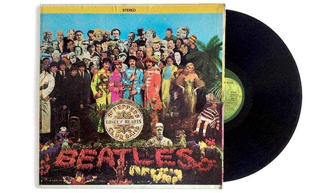 Sgt. Pepper's Lonely Heart's Club Band, Album, The Beatles, Boomer's Top 10 Albums Poll