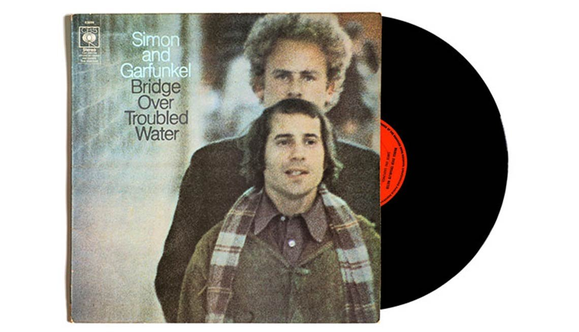 Simon And Garfunkel, Bridge Over Troubled Water Album, Boomer's Top 10 Albums Poll