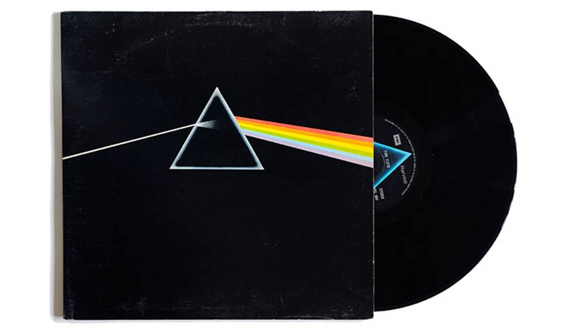Pink Floyd, The Dark Side Of The Moon Album, Boomer's Top 10 Albums Poll