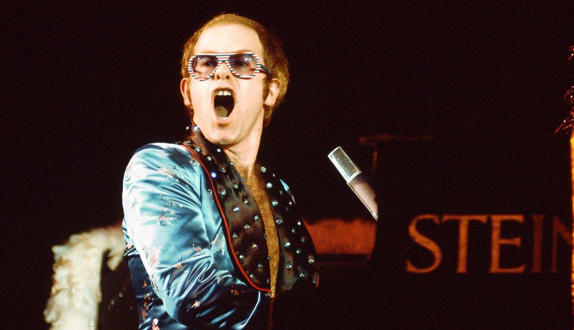 Elton John, Singer, Musician, Boomer Generation Soundtrack