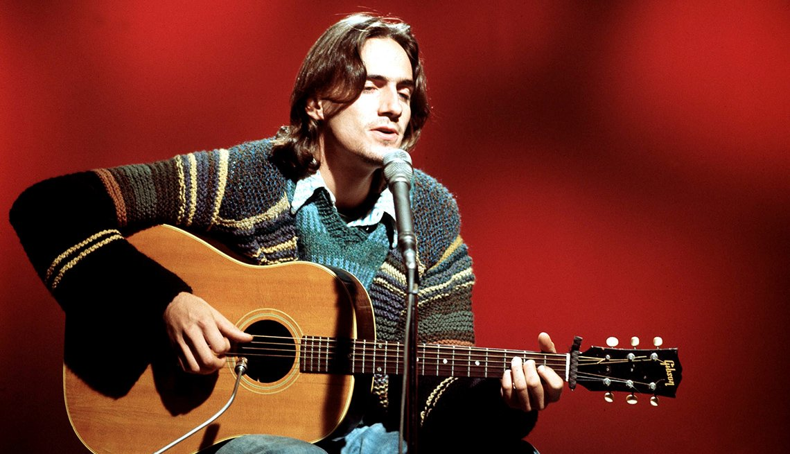 James Taylor, Singer, Songwriter, Musician, Boomer Generation Soundtrack
