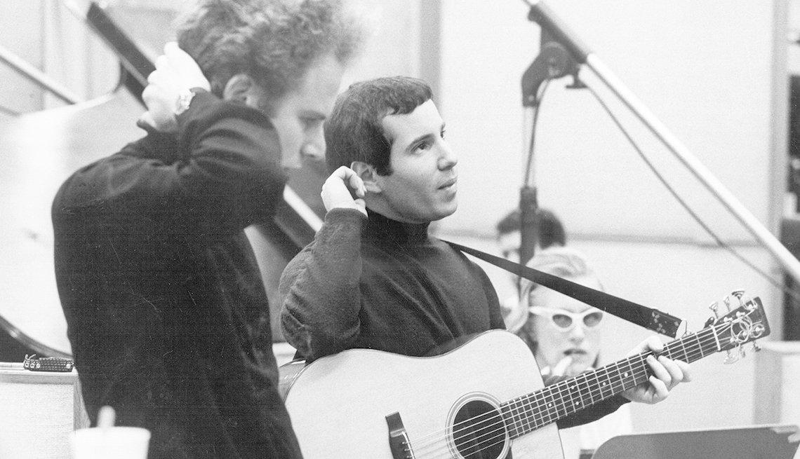 Simon And Garfunkel, Band, Musicians, Singers, Recording Studio, Boomer Generation Soundtrack