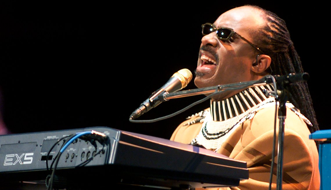 Stevie Wonder, Singer, Musician, On Stage, Concert, Performance, Boomers Generation Soundtrack