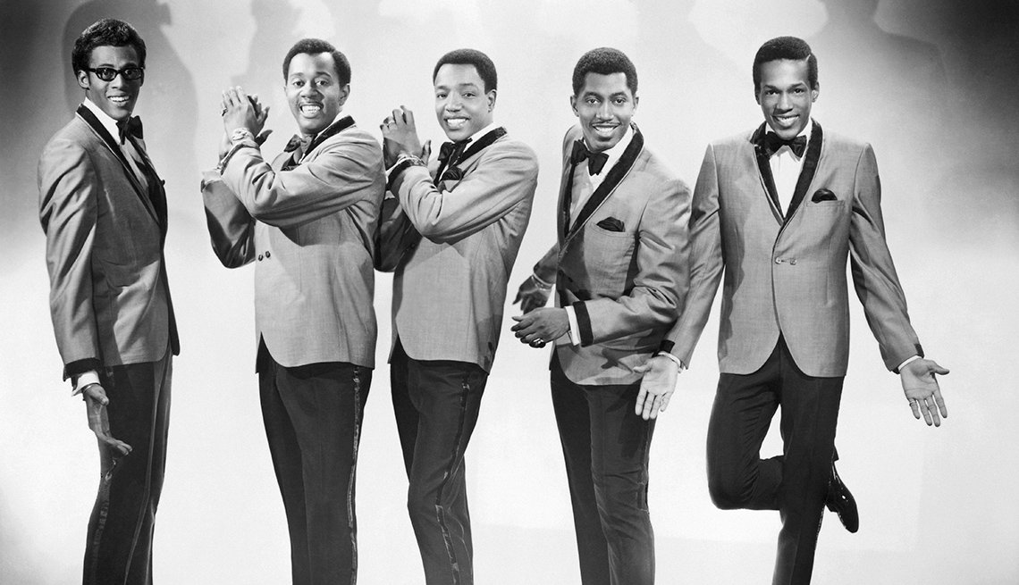 The Temptations, Singers, Band, David Ruffin, Melvin Franklin, Paul Williams, Otis Williams, Eddie Kendricks, R&B, Portrait, Boomers Generation Soundtrack