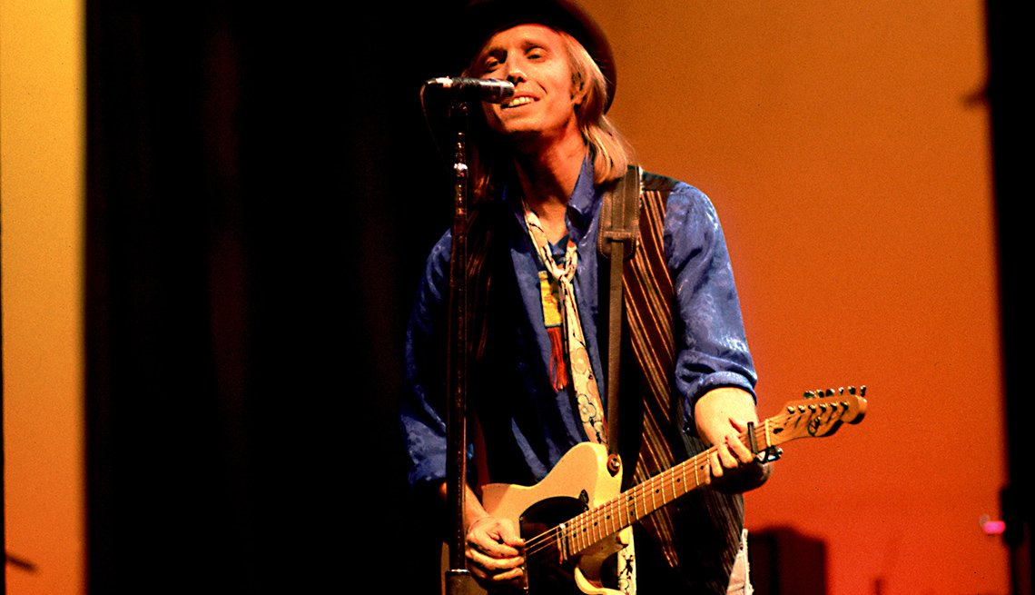 Tom Petty, Singer, Musician, On Stage, Concert, Performance, Guitar, Boomers Generation Soundtrack
