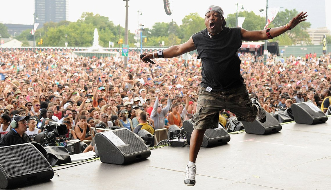Chuck D, Performance, On Stage, Concert, Singer, Public Enemy, Rap, Hip Hip Boomers