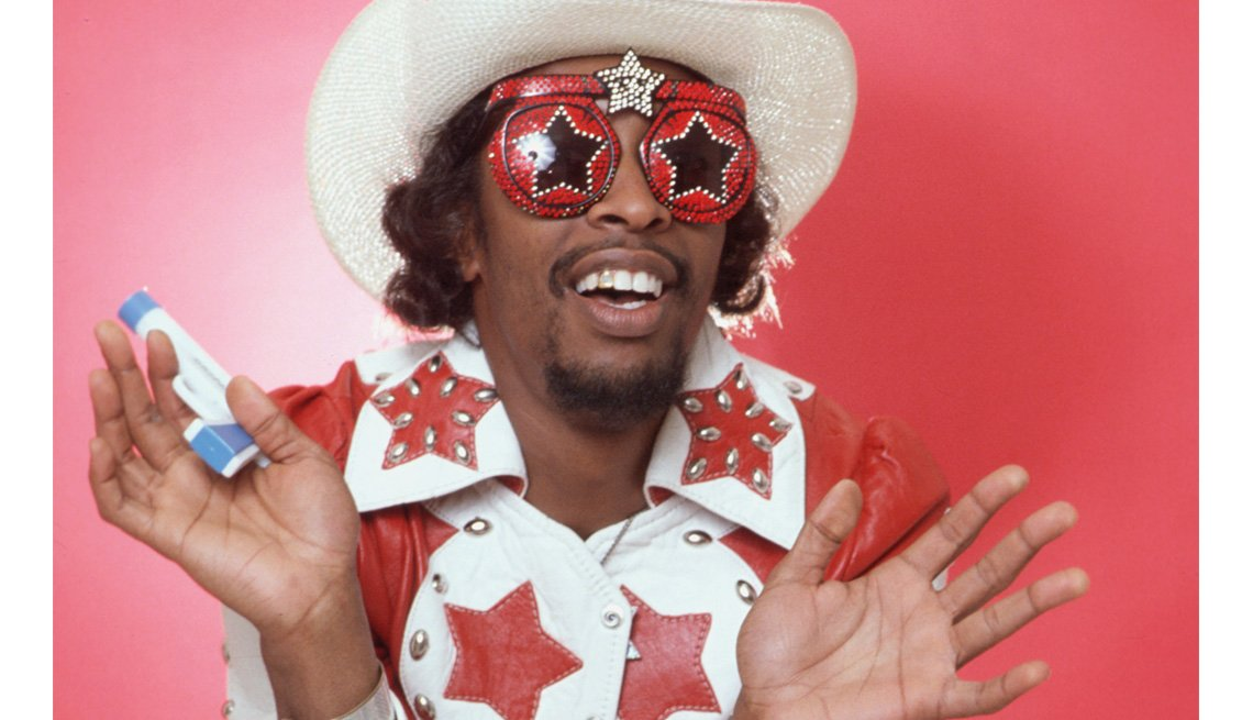 Bassist, Bootsy Collins, Portrait, Crazy Sunglasses, Stars Who Made James Brown A Star