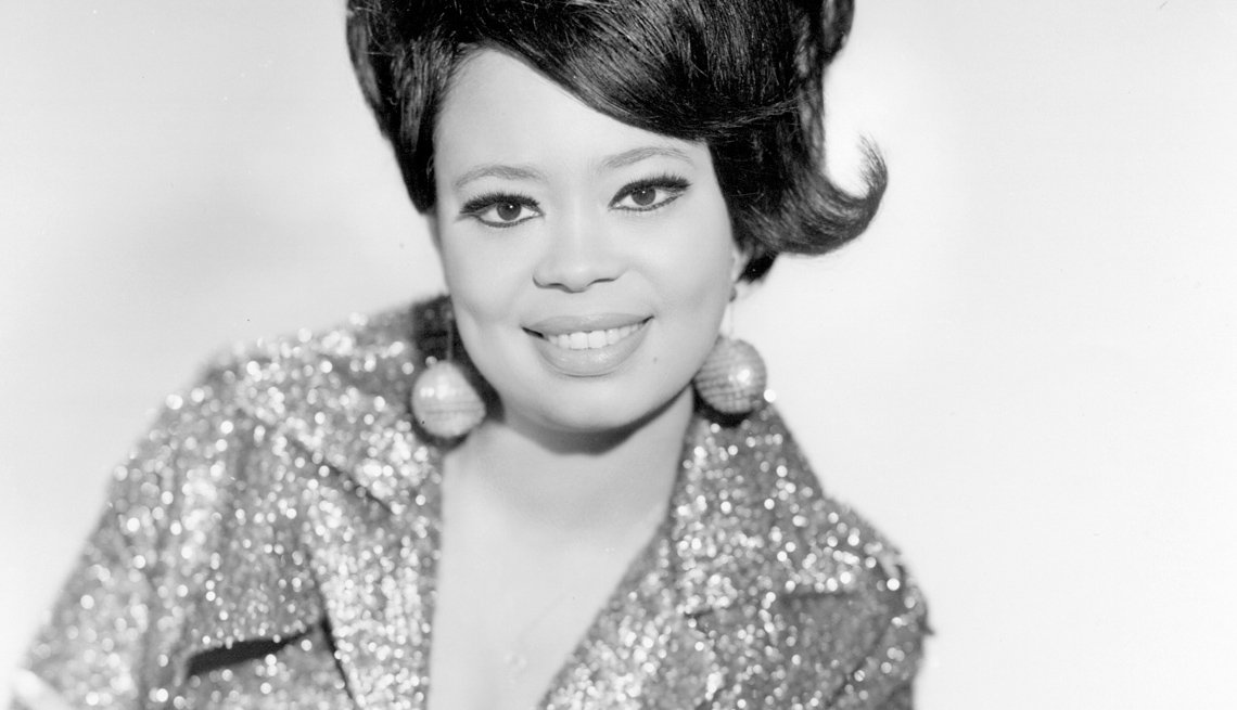 Singer, Yvonne Fair, Portrait, Stars Who Made James Brown A Star