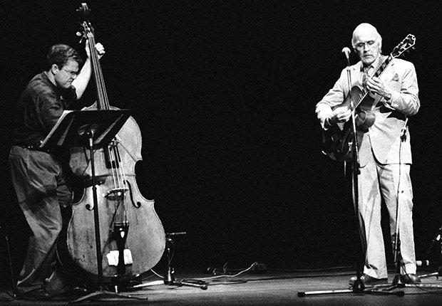 Charlie Haden and Jim Hall