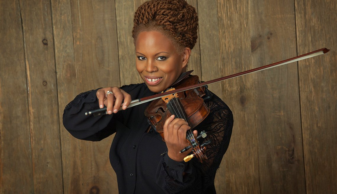 Regina Carter, Musician, Jazz Violinist, Portrait, Best Albums Of 2014