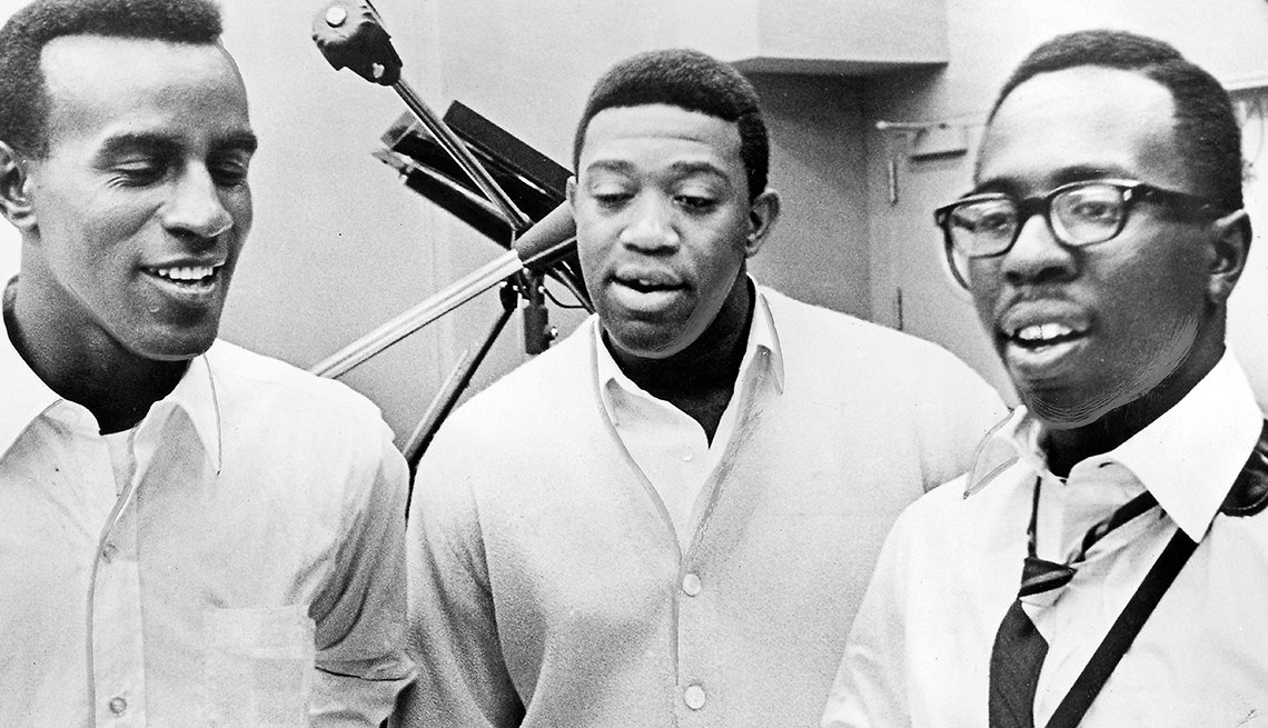 The Impressions, Singers, Curtis Mayfield, Recording Studio, Revolutionary Music Of 1965