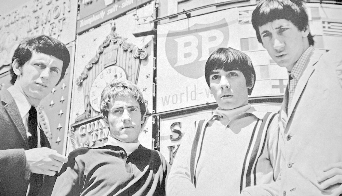The Who, Band, Musicians, Singers, Revolutionary Music Of 1965