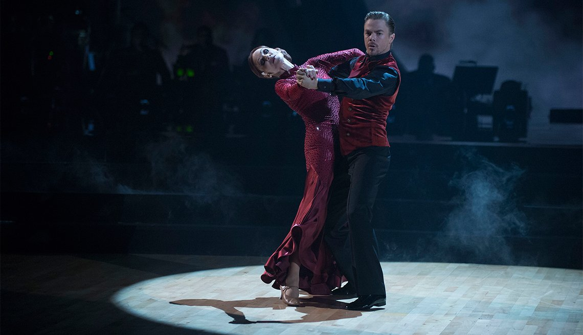 Marilu Henner and Derek Hough on 'Dancing with the Stars'