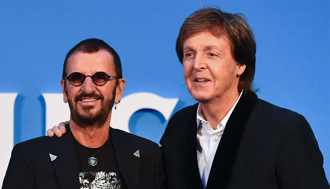 Paul and Ringo join forces to make a new recording