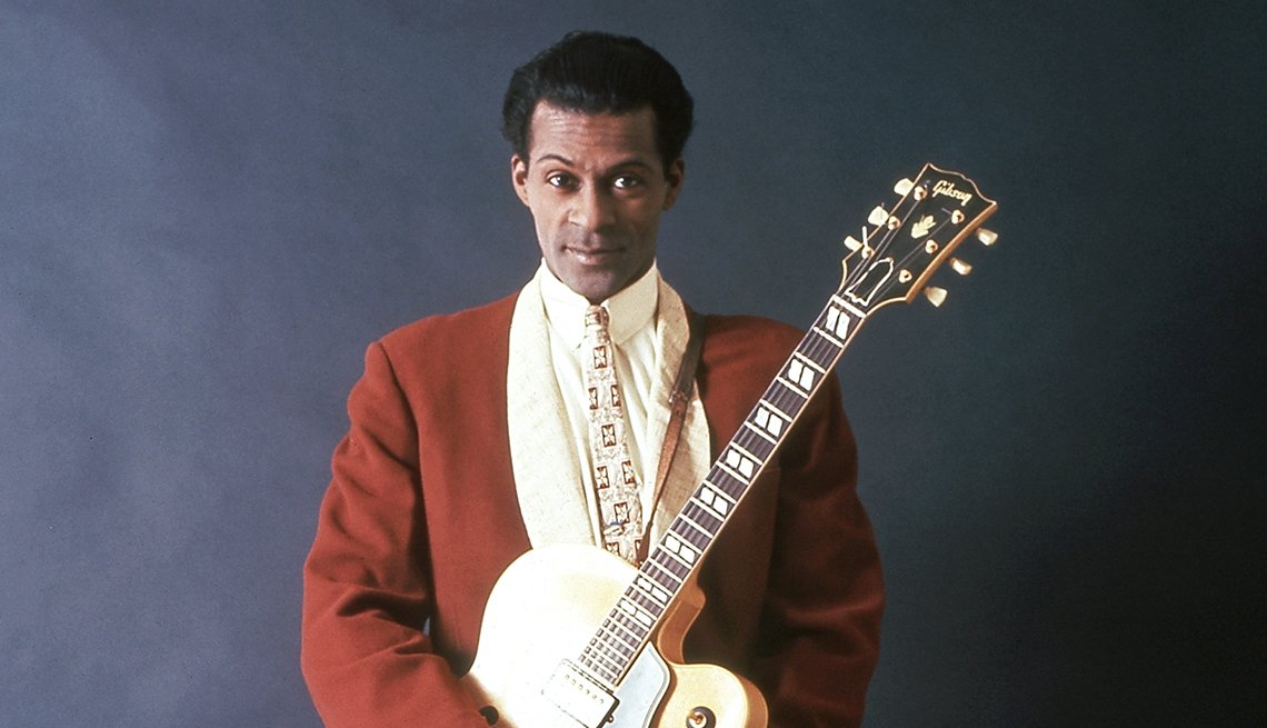 Chuck Berry taken 1958
