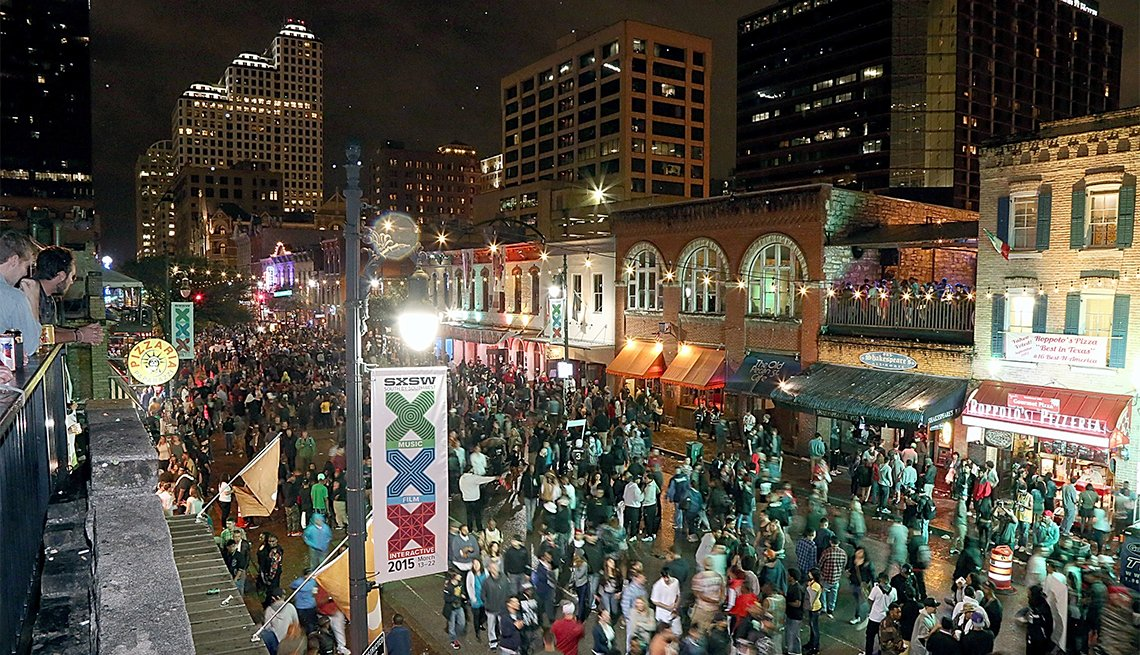 South by Southwest in Austin, TX
