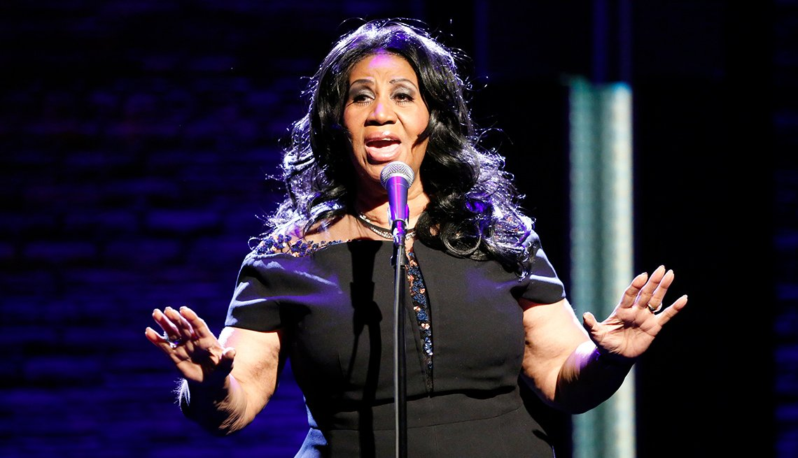 Aretha Franklin Retires