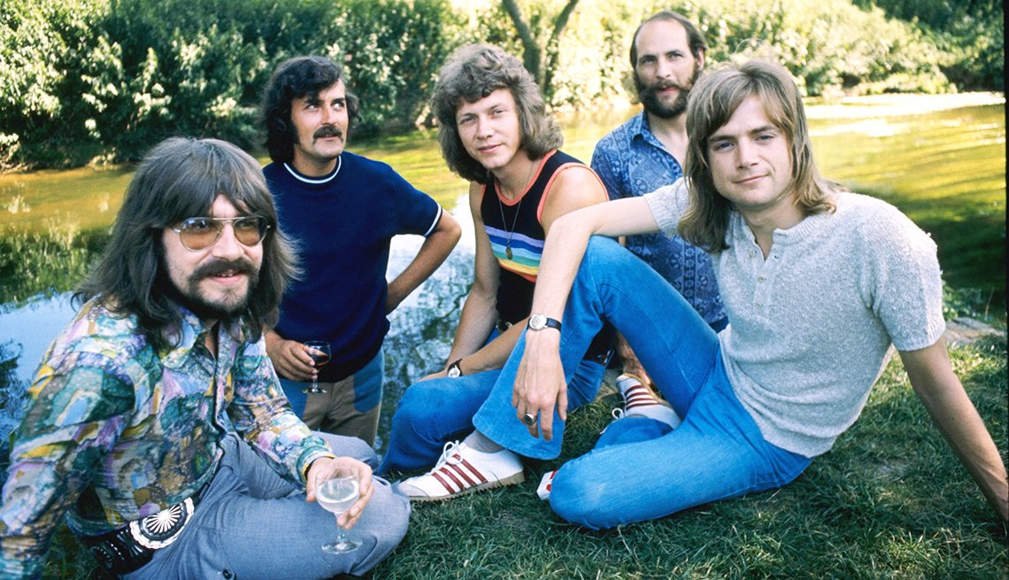 The Moody Blues are nominees for induction into the Rock and Roll Hall of Fame.