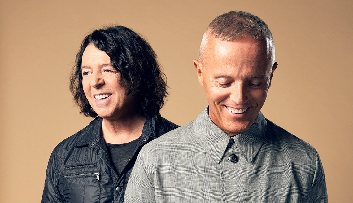 Roland Orzabal and Curt Smith of 'Tears for Fears'