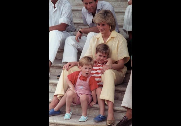 Princes Diana, children (Reuters/Hugh Peralta /Landov)