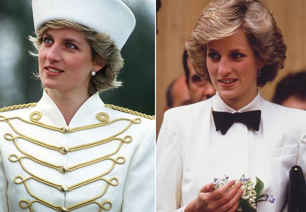 Princes Diana, uniform fashion (Getty Images)