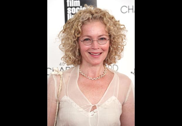 Amy Irving arriving for the 40th Annual Chaplin Award Gala Honoring Barbra Streisand (Walter McBride/Corbis)