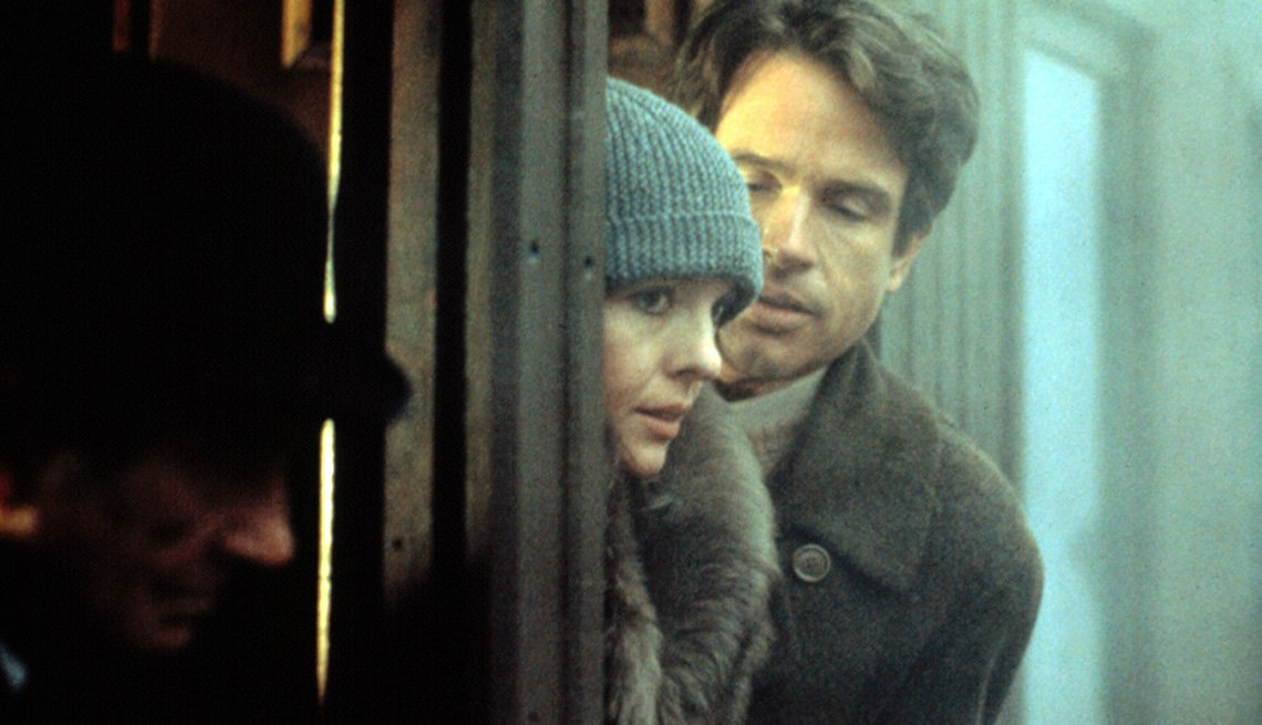 Reds Movie Still, Actors Warren Beatty And Diane Keaton, AARP Entertainment, Essential Boomer Movies