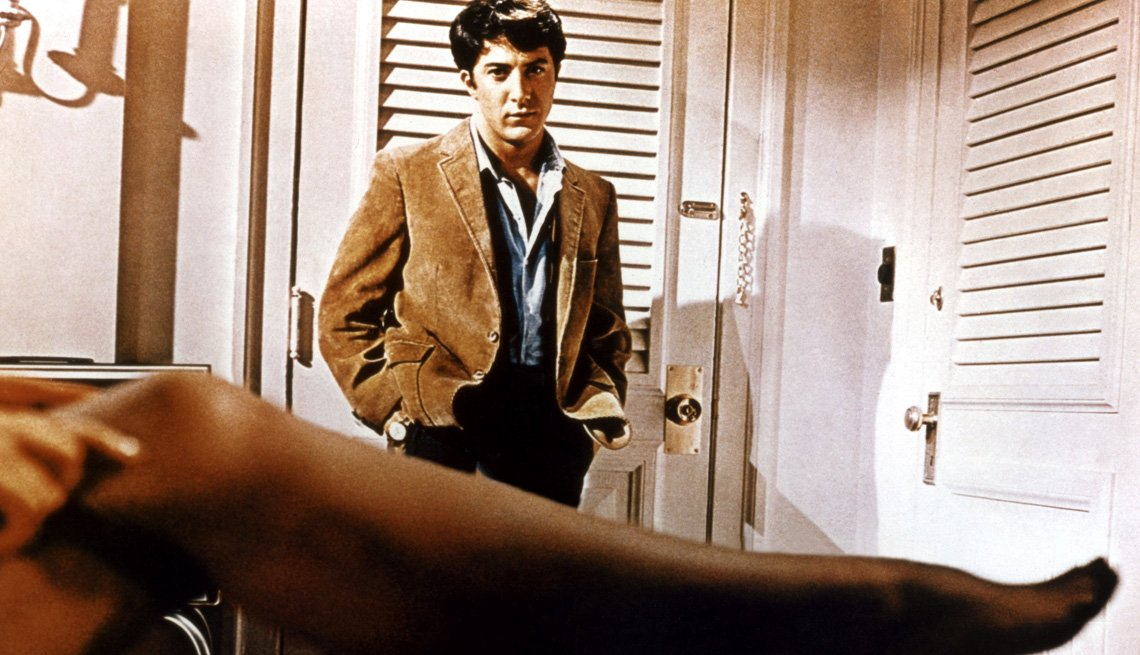 Movie Clip From The Graduate Starring Actors Dustin Hoffman And Anne Bancroft, AARP Entertainment, Essential Boomer Movies