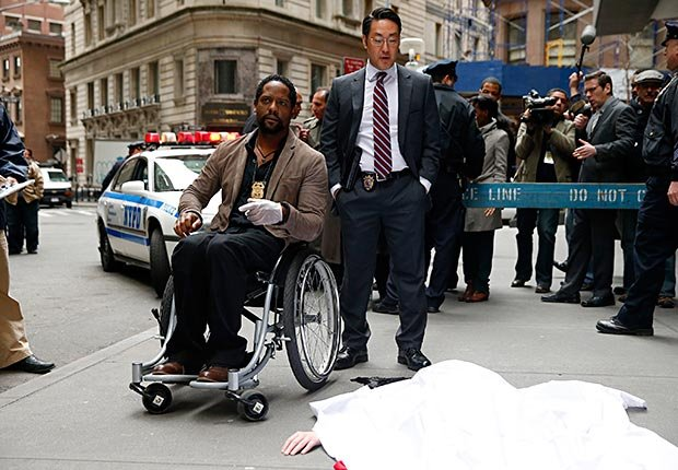 Blair Underwood in Ironside.