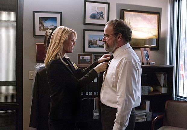 Claire Danes and Mandy Patinkin in Homeland
