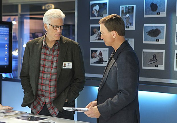 Ted Danson and Gary Sinise in CSI