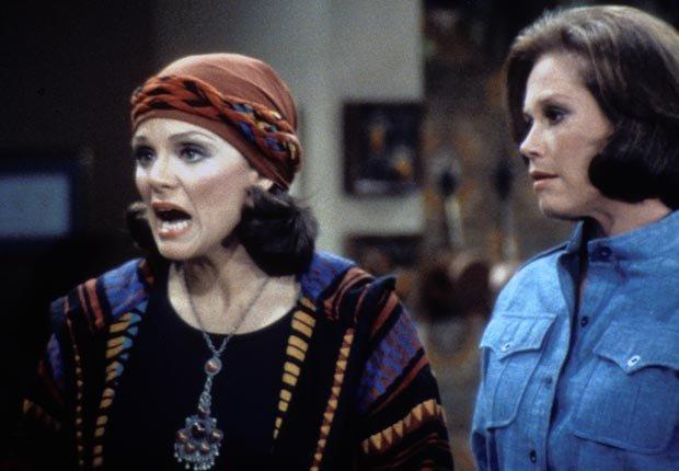 Valerie Harper, Mary Tyler Moore Show (CBS/Photofest)