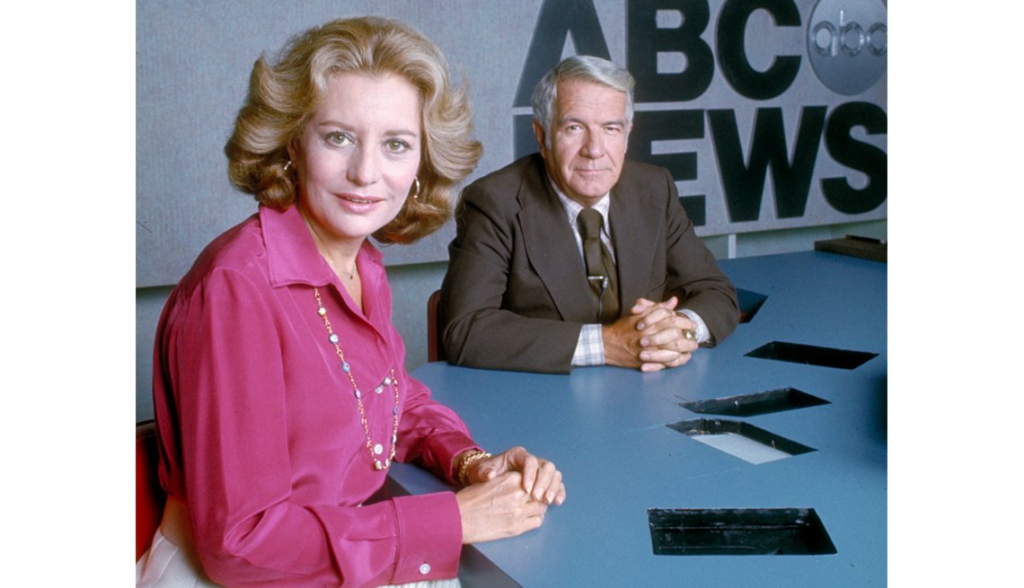 ABC News Co-Anchor, Harry Reasoner, Barbara Walters Slideshow