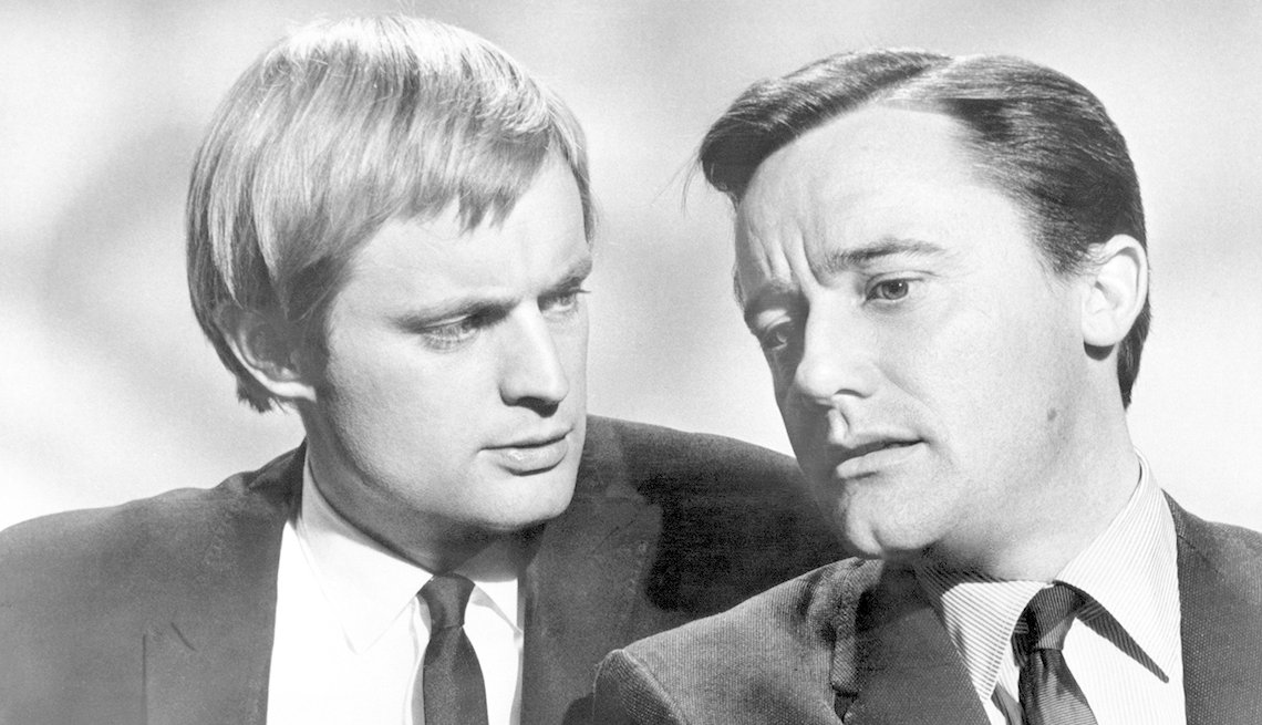 David McCallum, Robert Vaughn, The Man from U.N.C.L.E., Boomer TV Shows 1964 debut