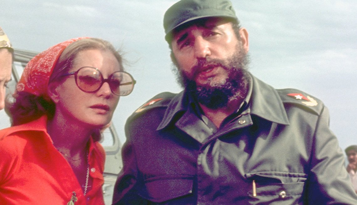 Barbara Walters Stands Next To Fidel Castro During Her Interview, Cuba, Barbara Walters Slideshow