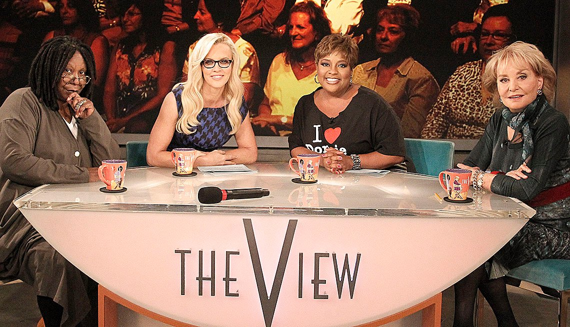 The View, Television Show, Whoopi Goldberg, Jennifer McCarthy, Sherri Shepherd, Barbara Walters Slideshow