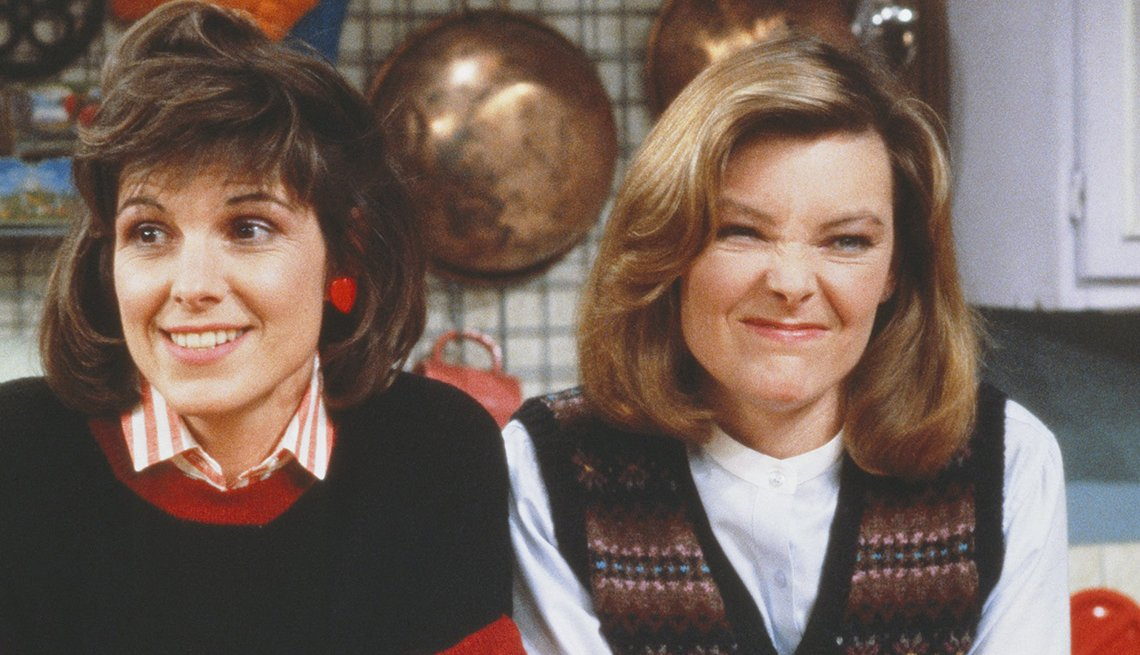 Susan Saint James, Jane Curtin, Kate & Allie, Women Who Changed TV