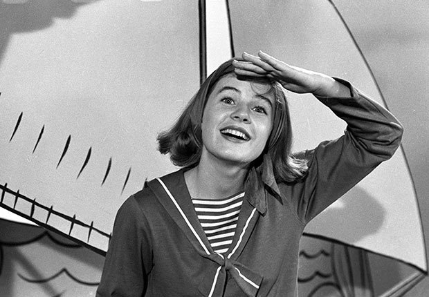 Patty Duke in the Patty Duke Show.