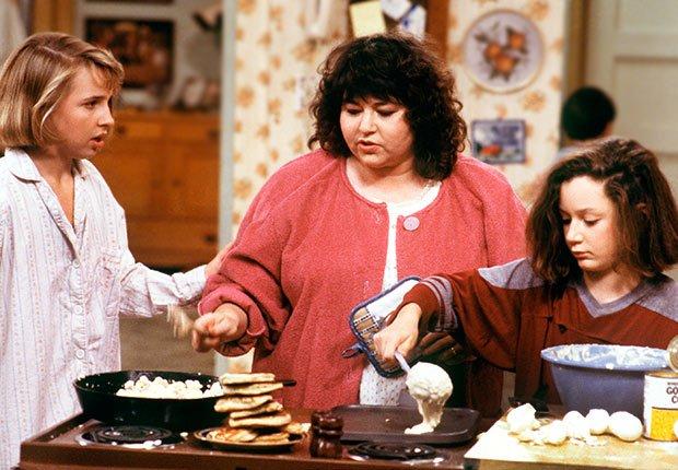 Roseanne Barr on Roseanne,