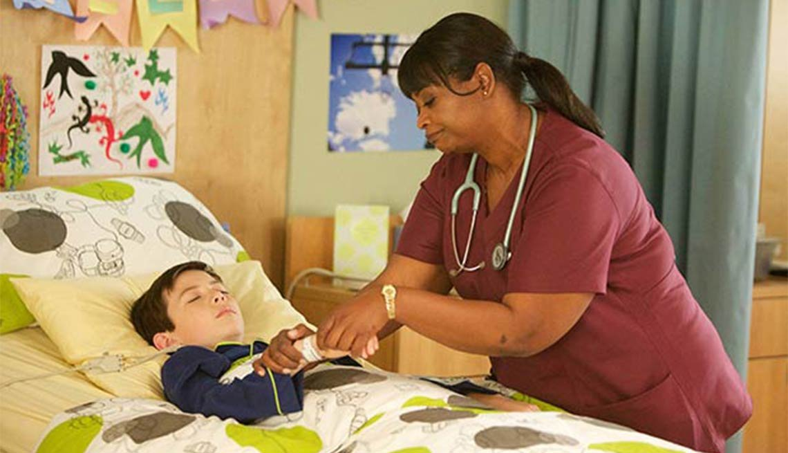 Octavia Spencer, Red Band Society, television
