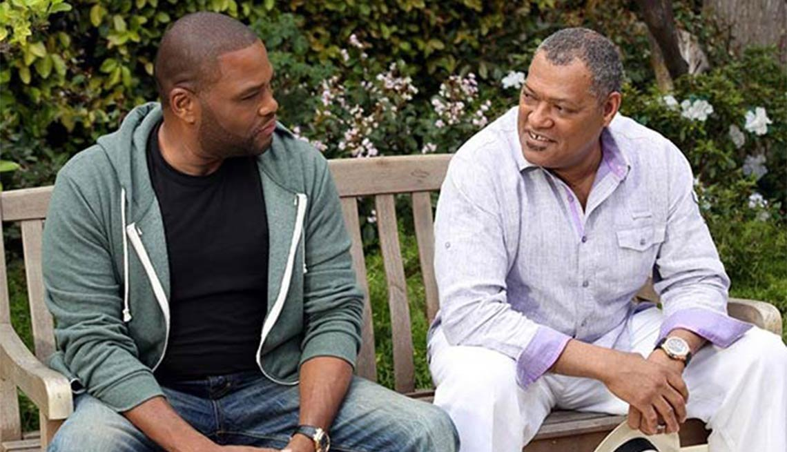 Laurence Fishburne, Anthony Anderson, Black-ish, Fall 2014 TV for Grownups