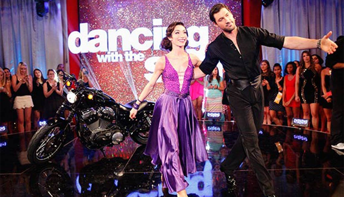 Meryl Davis, Maksim Chmerkovskiy, Dancing With the Stars, Fall 2014 TV for Grownups