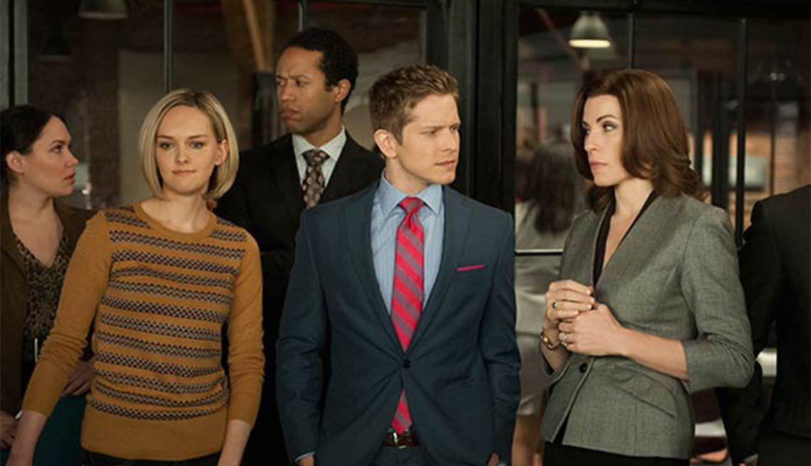 Julianna Margulies, The Good Wife, Fall 2014 TV for Grownups