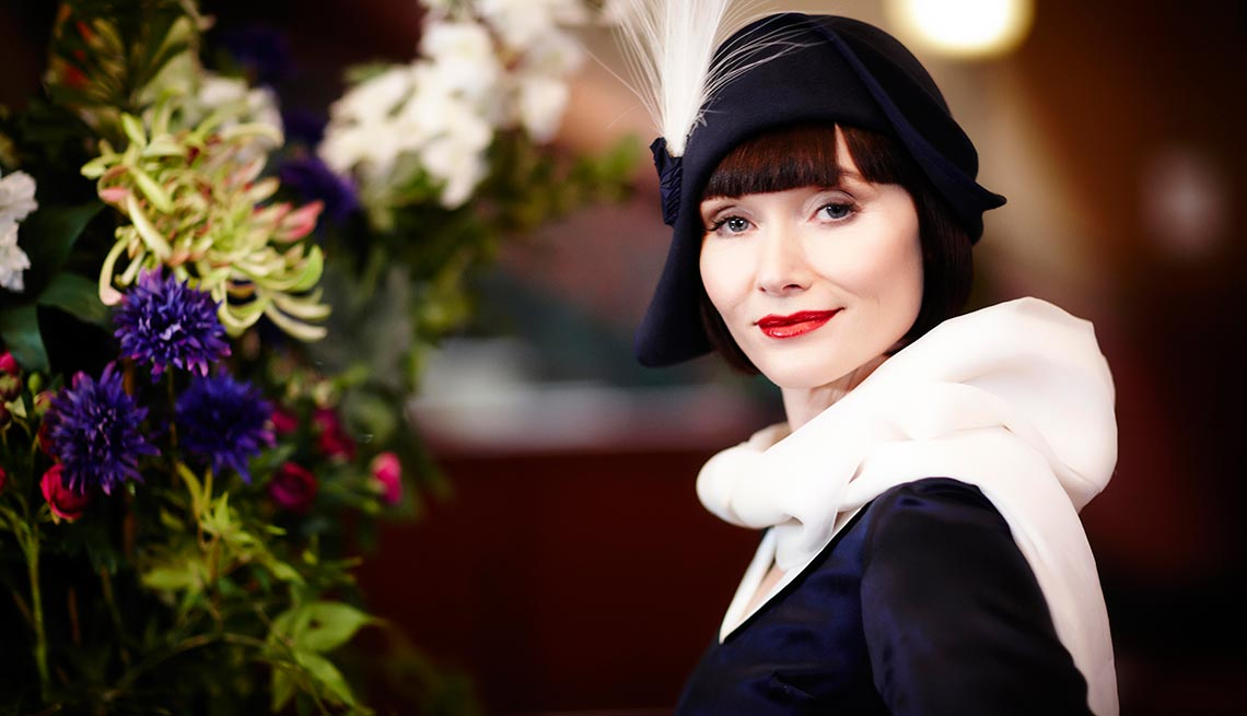 Essie Davis, Binge Worthy TV, Miss Fisher's Murder Mysteries