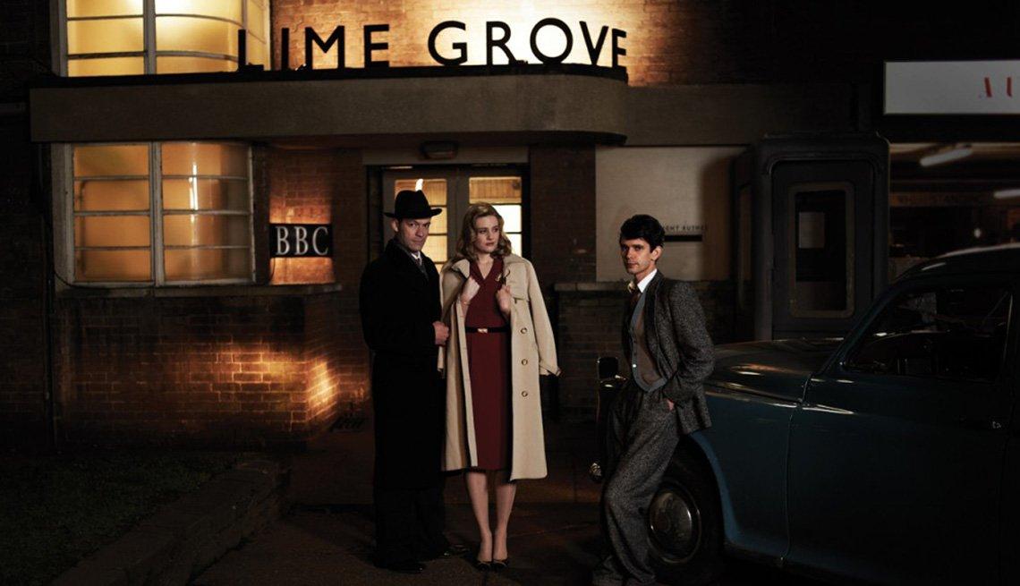 Dominic West, Romola Garai, Ben Whishaw, The Hour, Binge Worthy TV
